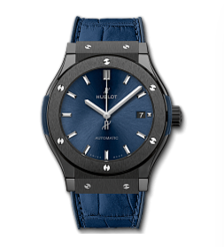 Classic Fusion Ceramic Blue 42mm